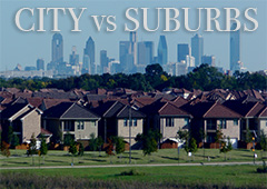 Four Things to Consider When Making the Decision to Live in the City or the Suburbs